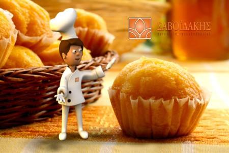 Savoidakis Pastry – Savoulis 3d character