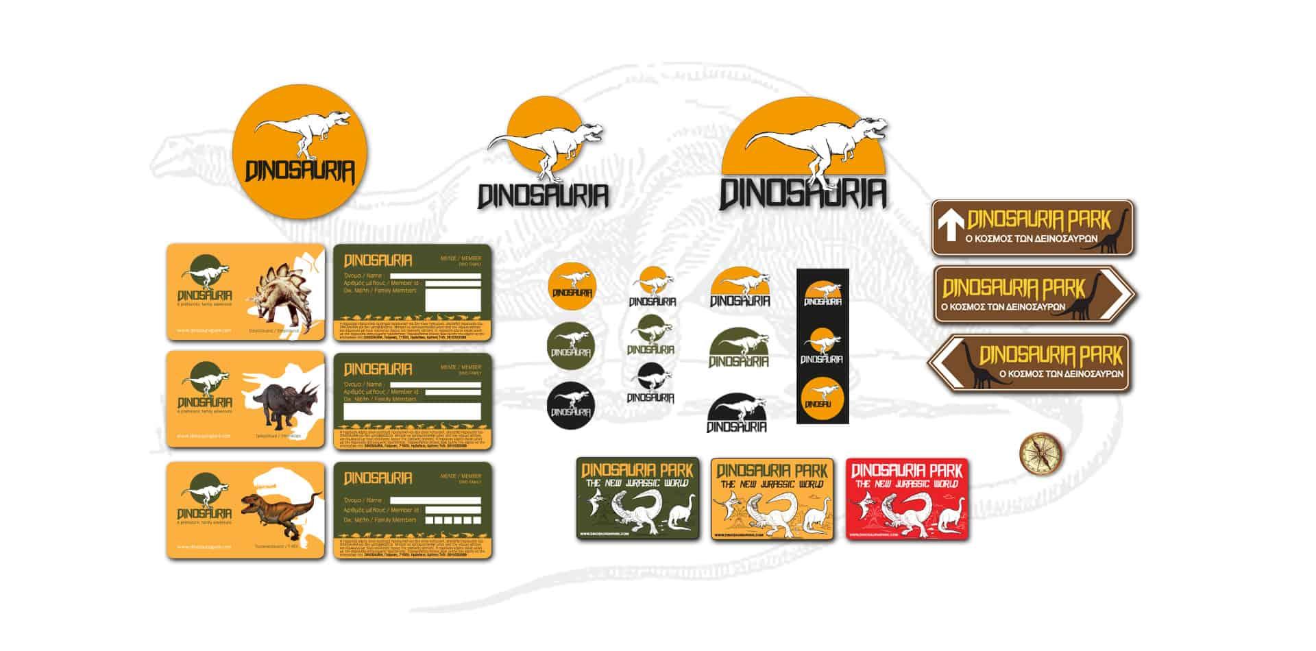 dinosaur graphics logo