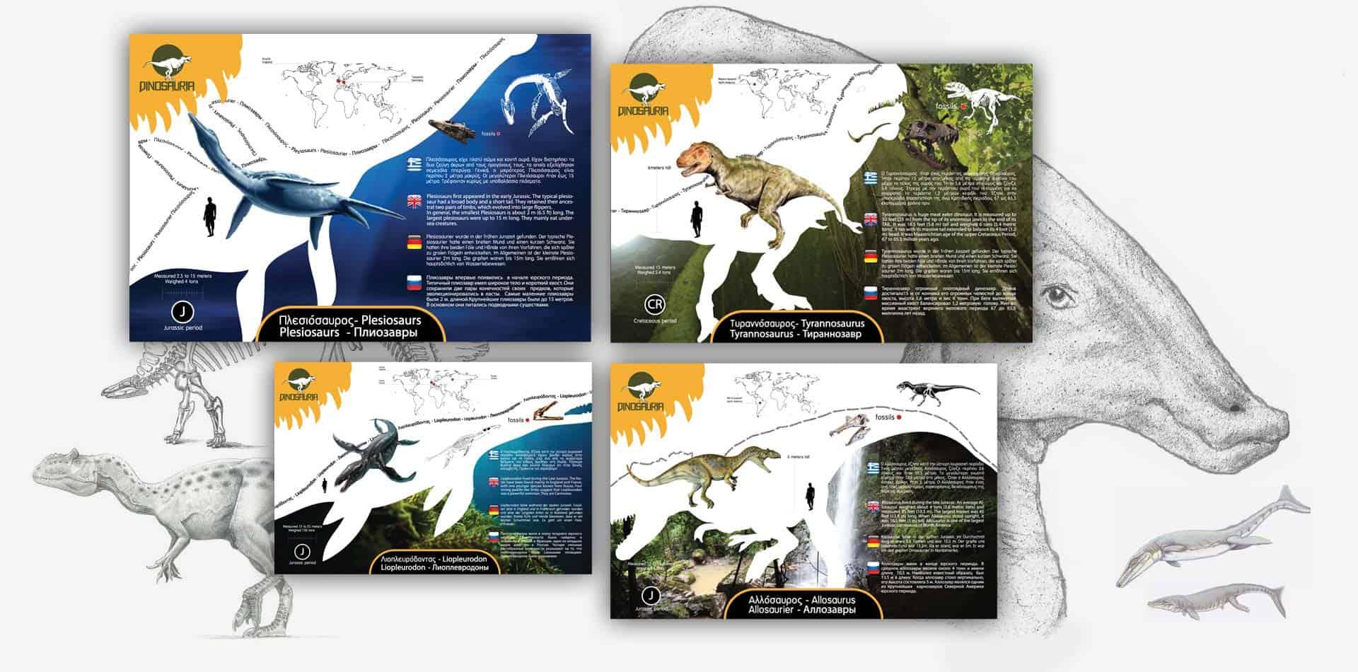 dinosauria park info desk borads 20141