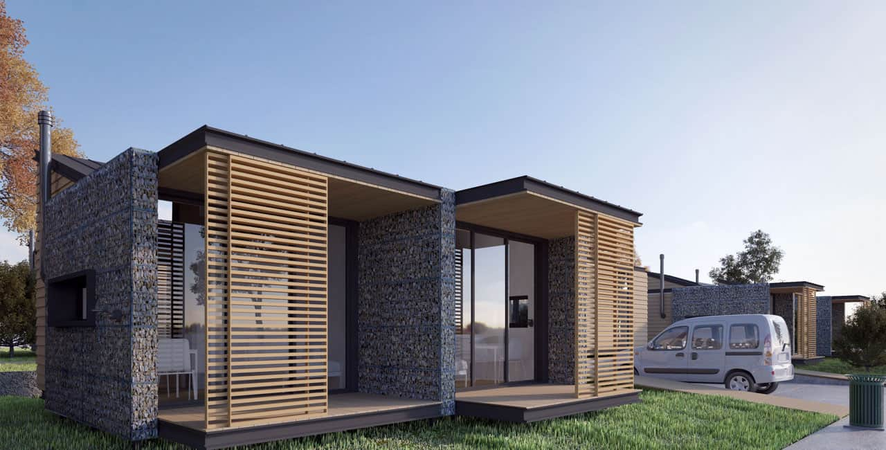 Tiny Home Community Competition 2015 3d Architectural