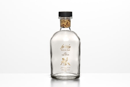 Bottle labels design and packaging