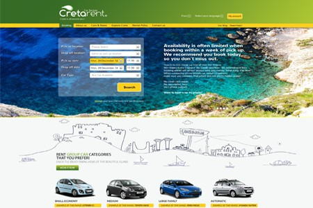 Cretarent rent a car