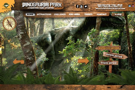 Dinosauria park website