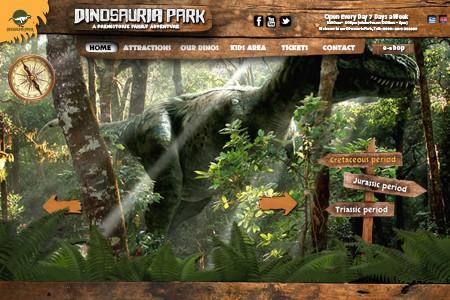 Dinosauria park website