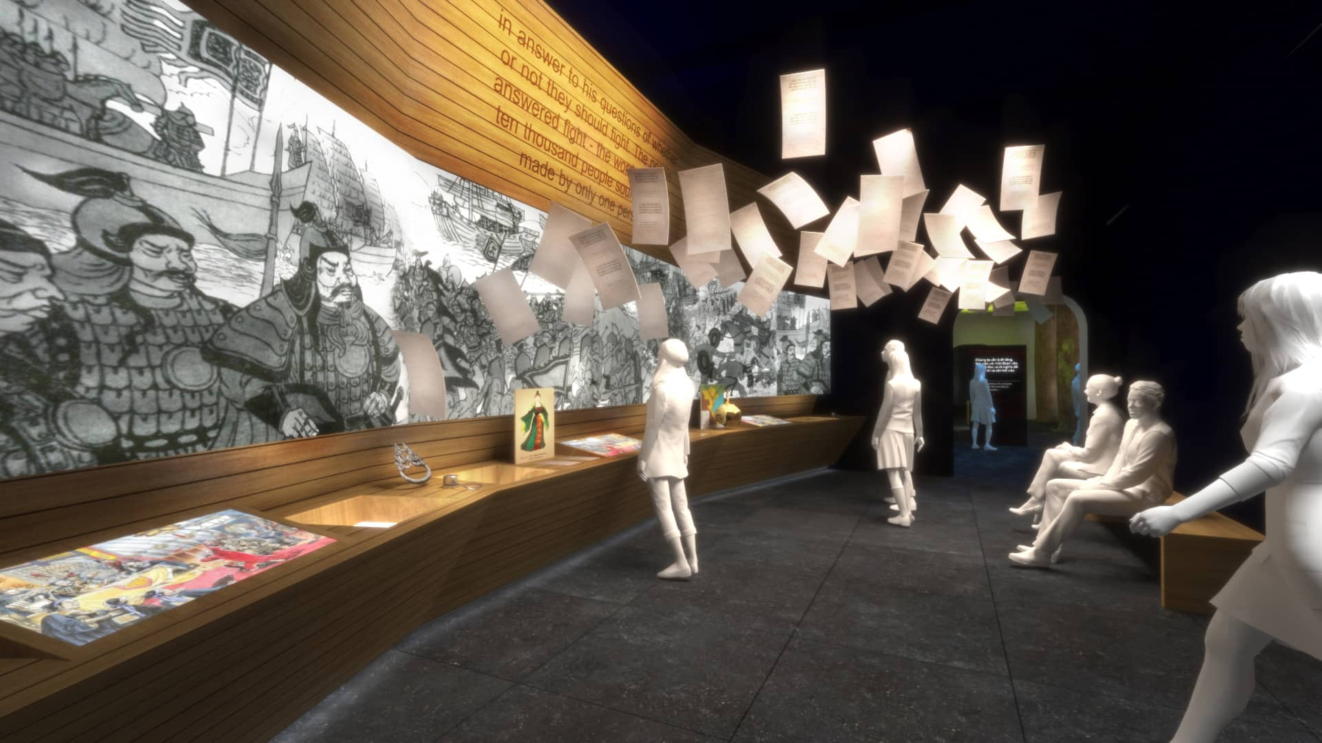 visualisation exhibition and experiential design