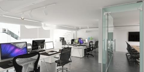 3d architecture visualization Interior design 1