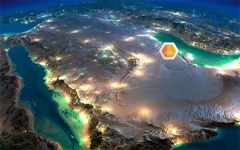 Διαδραστικές εγκαταστάσεις –  Εικονική περιήγηση – Σαουδικής Αραβίας