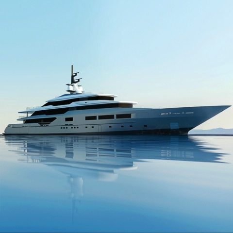 Yacht renderings