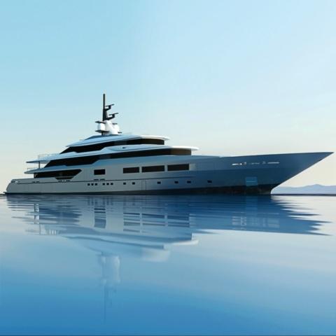 Yacht renderings