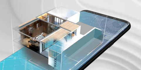 AR architectural visualization