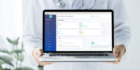 IASIS live talk with a doctor dashboard