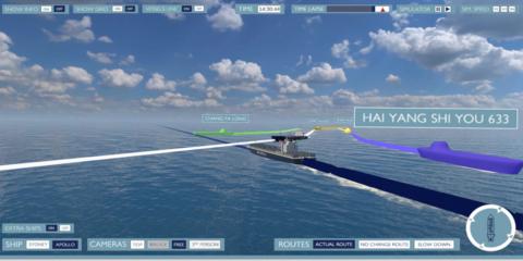 ships simulation