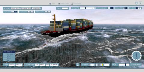 vessel simulator