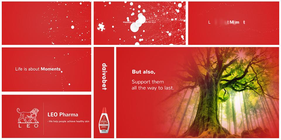 leo pharma storyboard design